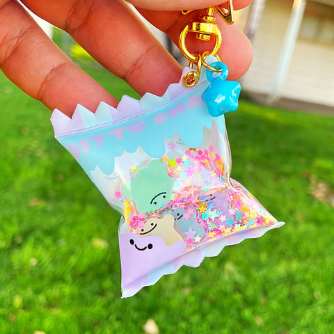 Ditto candy bag charm