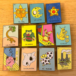 Loteria entire pin set