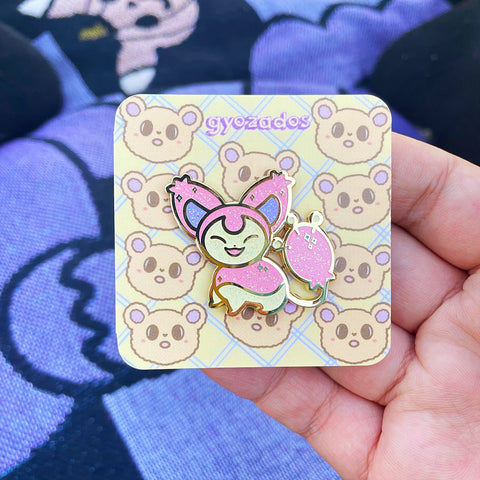 Shiny Skitty pin