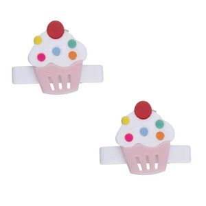 Cupcake Alligator Clips