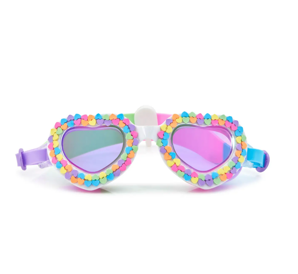 Heart Eyes Bling Googles