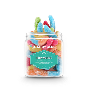 Book Worms Gummy Candy