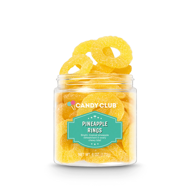 Pineapple Rings Gummy Candy