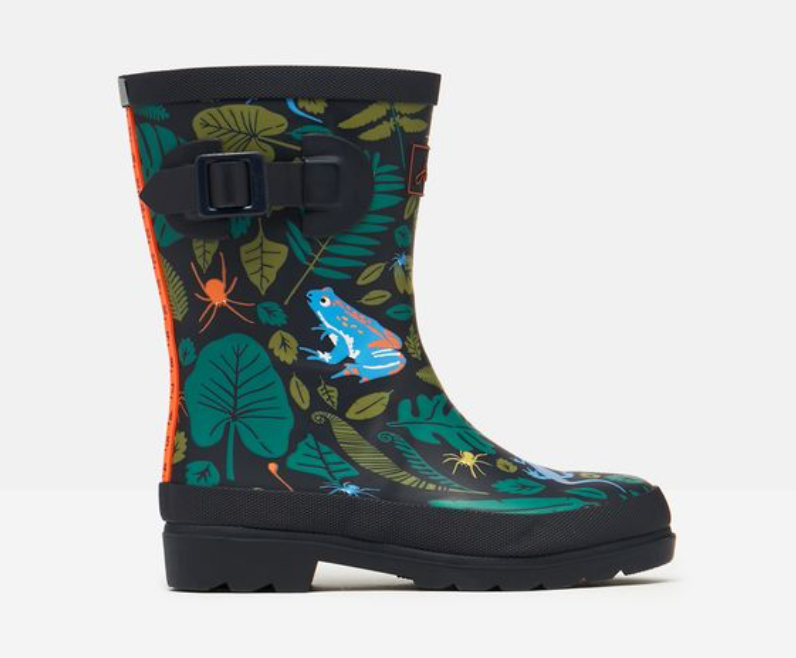 Tall Printed Welly - Garden