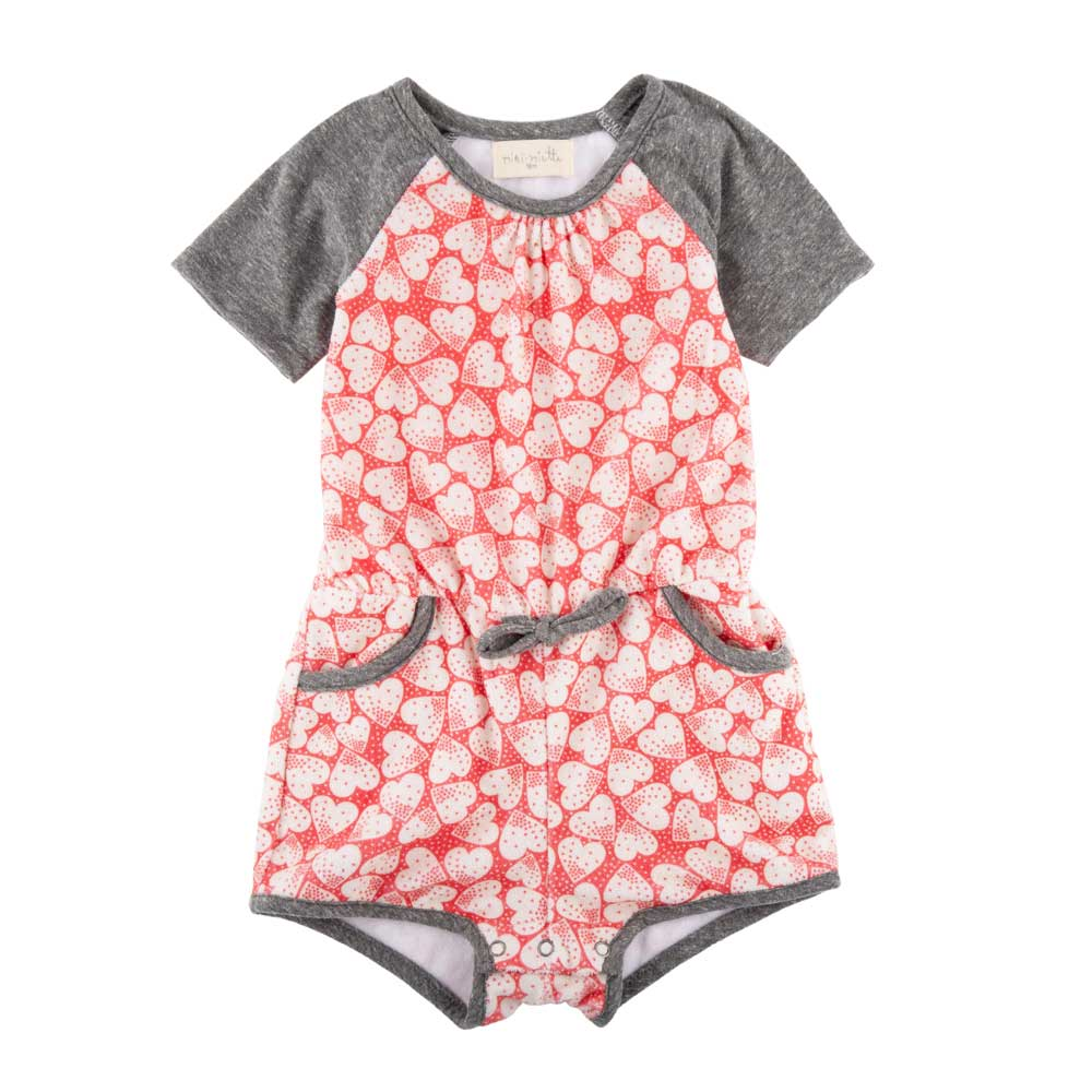 Simone Romper Retro Love