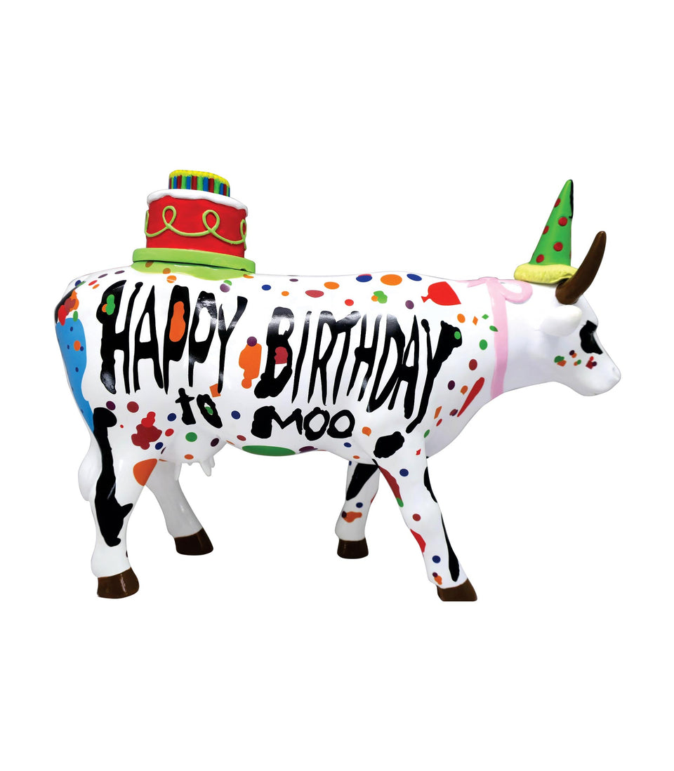 Happy Birthday To Moo! - Large