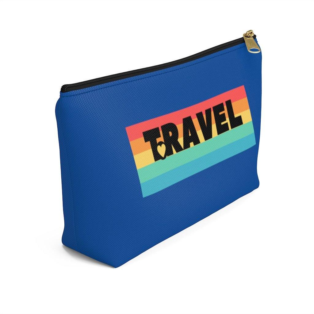 Travel Accessory Pouch w T-bottom - Travel Attractive