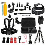 GoPro Hero Mount 26 Piece Accessory Kit for 1/2/3/3+/4/5 Camera
