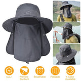 Wide Brim Breathable Unisex Fishing Bucket Hat