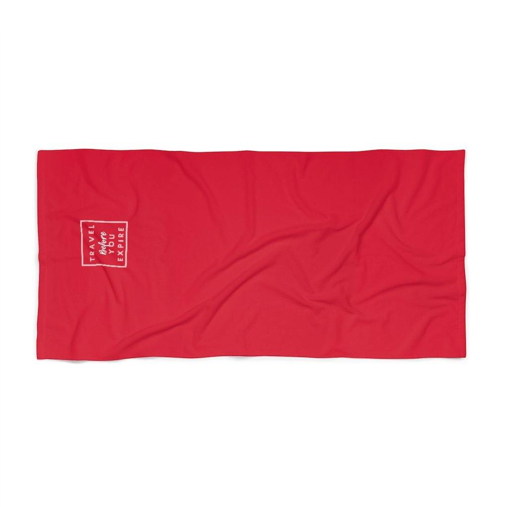 Travel Beach Towel - Travel Attractive