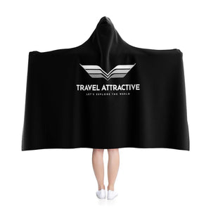 Airplane Hooded Blanket