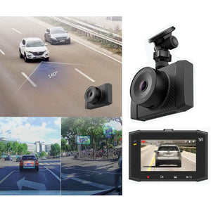 "YI 2.7K Ultra Dash Cam with 2.7"" LCD Screen  140° Wide Angle Lens"