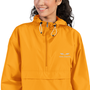 TA Embroidered Champion Packable Jacket - Travel Attractive