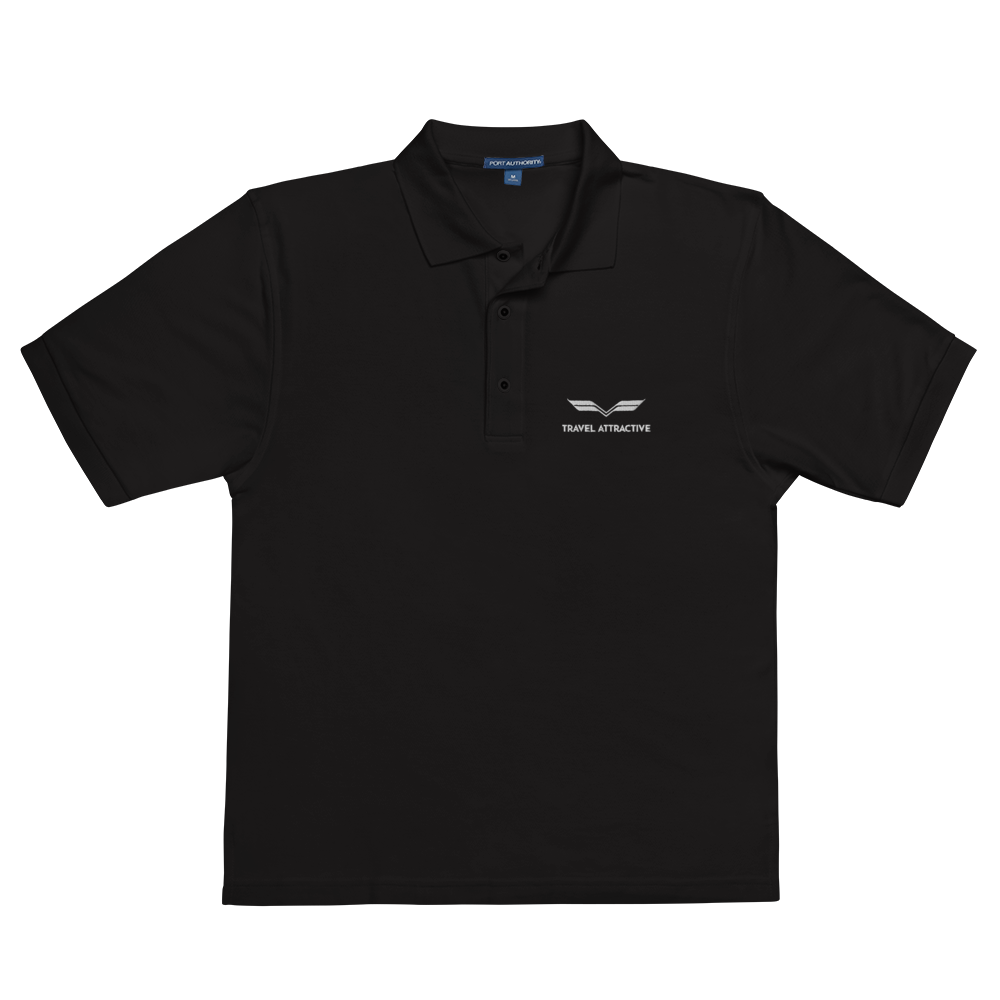 Travel Attractive Men's Premium Polo - Travel Attractive