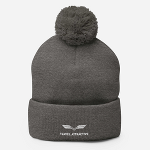 TA Pom-Pom Beanie - Travel Attractive