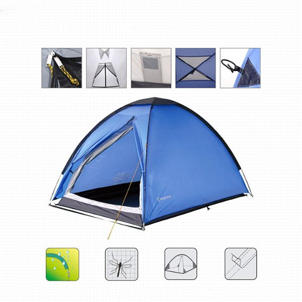 2-Person Lightweight Portable Durable Waterproof Dome Tent