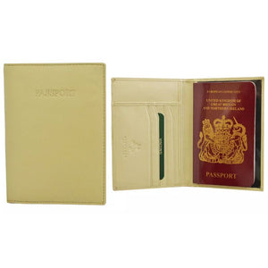 Visconti RFID-Blocking Leather Passport Wallet