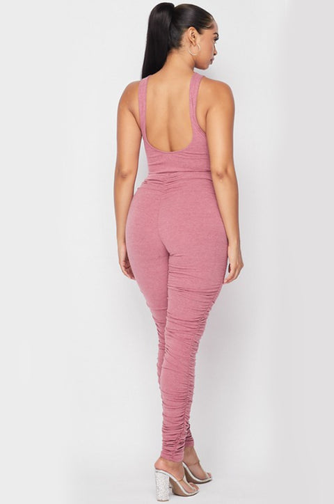 Mauve Body suit with pants set. - 7Nineteen clothing store