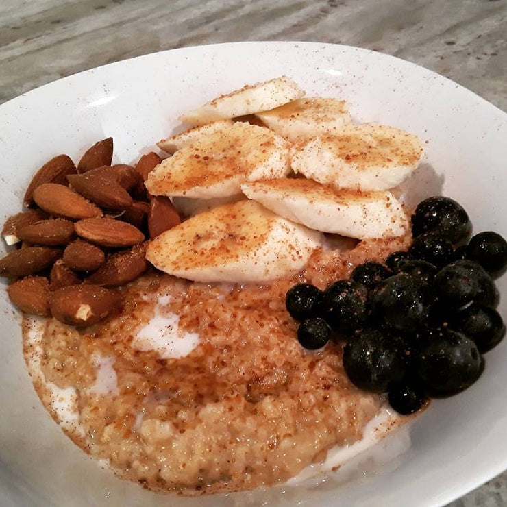 Fresh Start Oatmeal w/ PHILMORE'S GOURMET CHAI LA LA SPICE!!! PHILMORE'S GOURMET...It Makes EVERYTHING Taste Better!!!