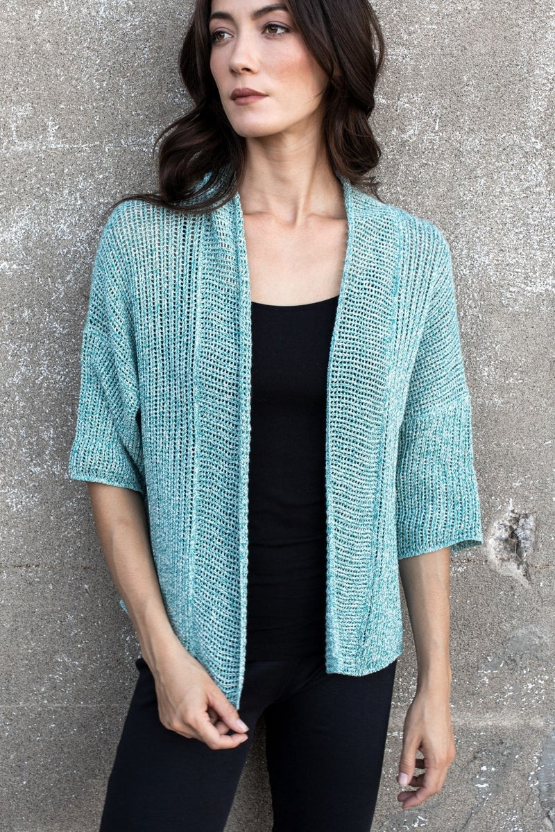 Briana Organic Cotton Cardigan