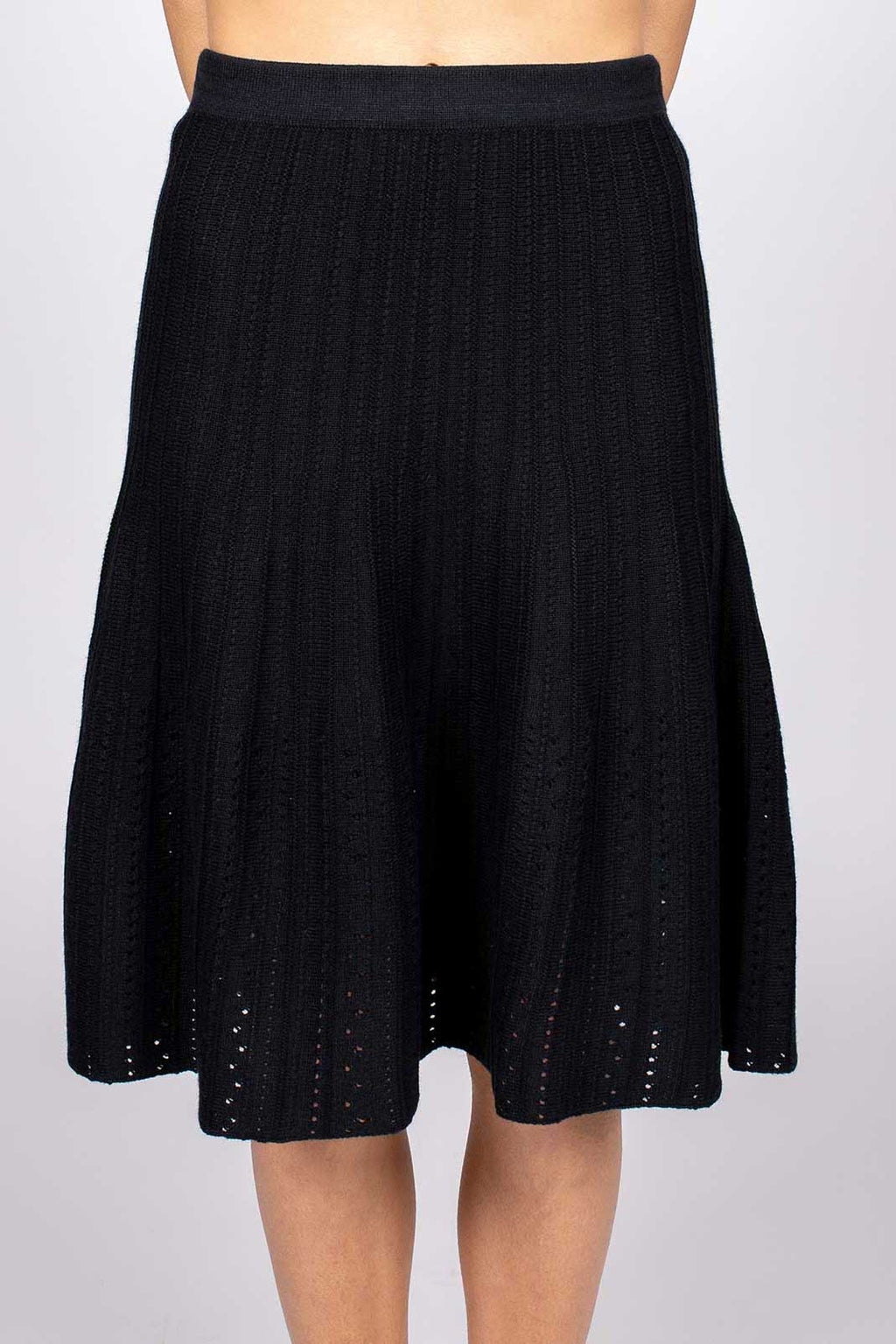 Ensenada Textured Cotton Skirt