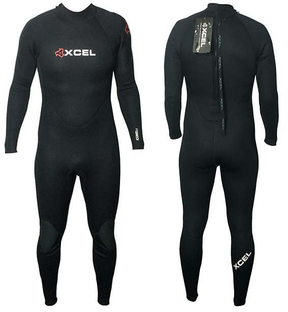 XCEL 4/3MM ICONX WETSUIT