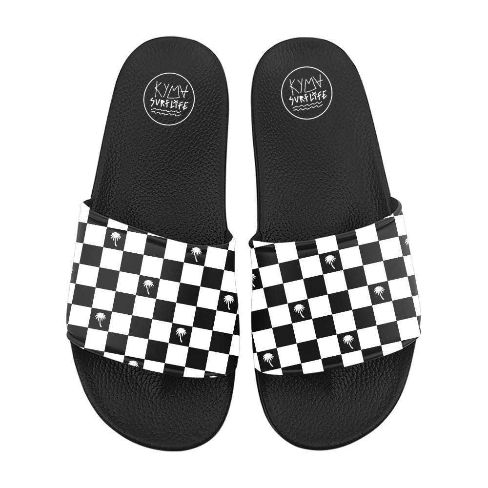 Kyma Slippers Chessboard Palm