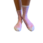 Kyma Pink Palm Trees Socks