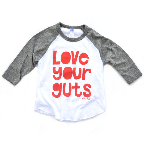 Love Your Guts Raglan