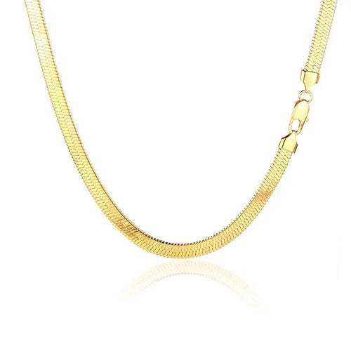 Jessie Flat Chain Necklace - Innysthebrand Jewelleryy