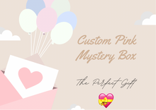 Load image into Gallery viewer, Custom pink mystery box