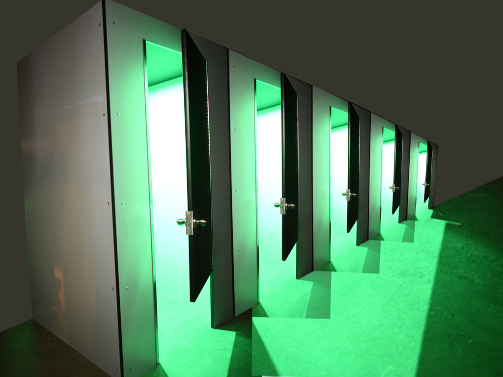 Custom Ceiling LED Booth