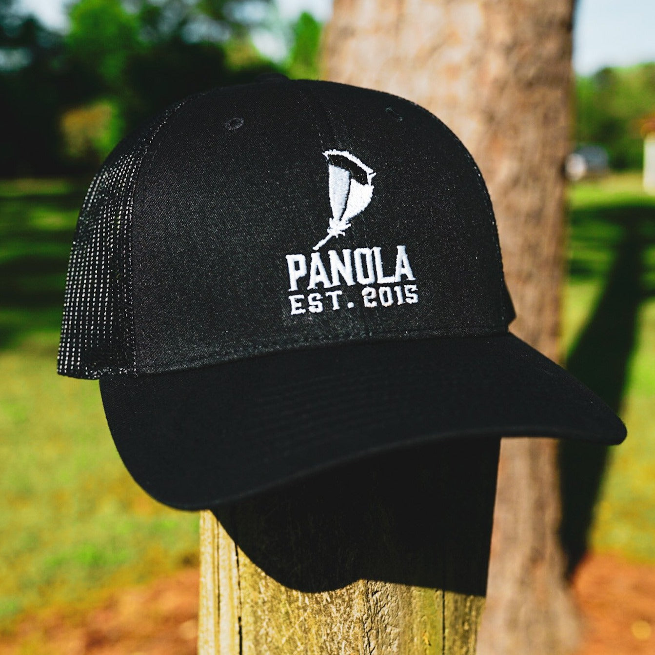 Panola Feather Logo Low Pro Trucker Hat