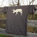 Load image into Gallery viewer, Panola Chasing Buck- MISPRINT*- Tri-Blend Tee