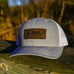 Load image into Gallery viewer, Panola Brand Leather Patch Trucker Hat