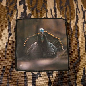"4"" Gobbling Turkey by Levi Glines Sticker- Matte Finish"