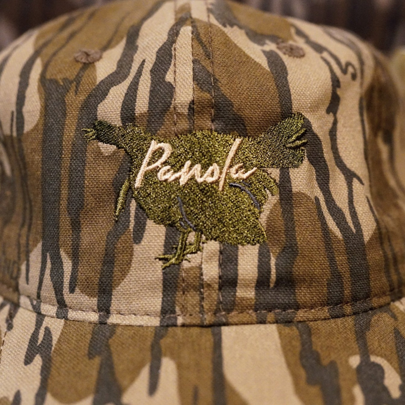 Gobbling Turkey Unstructured Hat- Camo