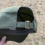 Load image into Gallery viewer, Arrowhead Unstructured Hat- Olive