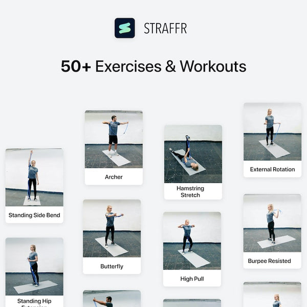 STRAFFR exercises and workouts