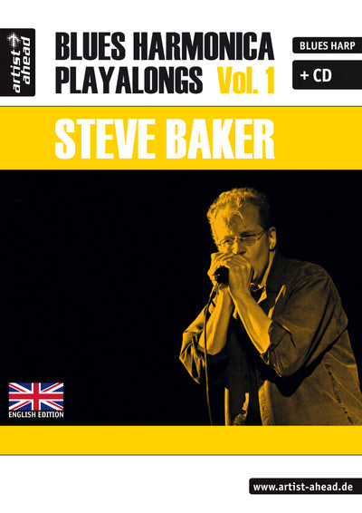 Steve Baker - Blues Harmonica Playalongs Vol. 1 (Buch-PDF und MP3s) (6688922435737)