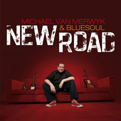 Michael Van Merwyk & Bluesoul - New Road (CD) (5948065579161)