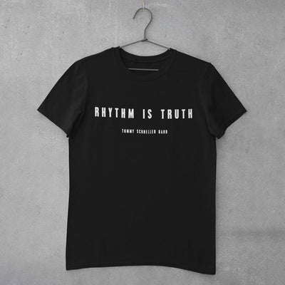 "Tommy Schneller Band - T-Shirt ""Rhythm Is Truth"" (T-Shirt) (6624103596185)"