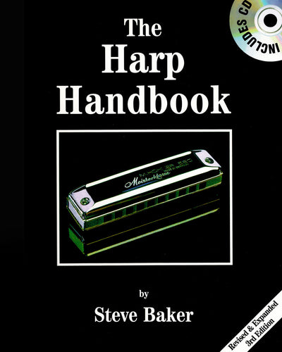 Steve Baker - The Harp Handbook (Buch + CD) (6710604234905)