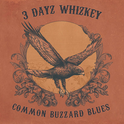 3 Dayz Whizkey - Common Buzzard Blues (CD)