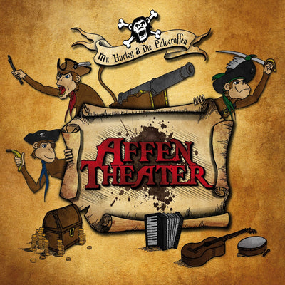 Mr. Hurley & Die Pulveraffen - Affentheater (CD) (5871676817561)