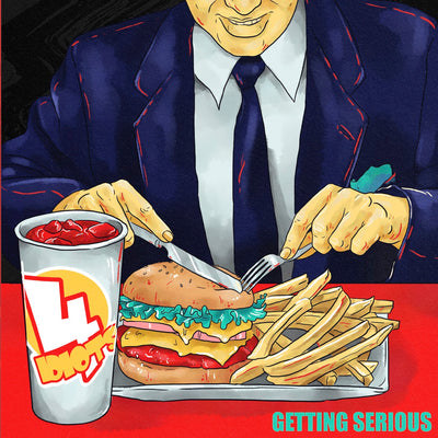 4 Idiots - Getting Serious (CD)