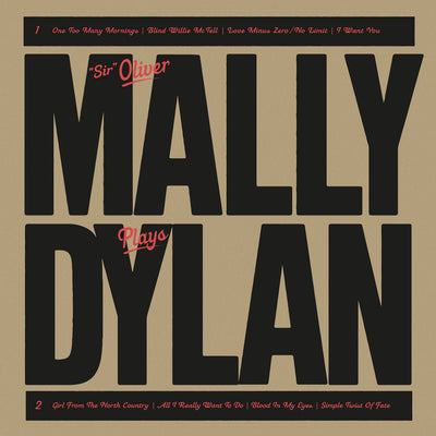 """Sir"" Oliver Mally - Mally Plays Dylan (12"" Vinyl-Album) (5871805923481)"
