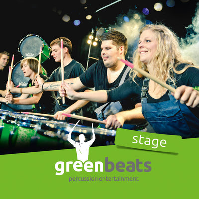 greenbeats - stage (CD) (5871692906649)