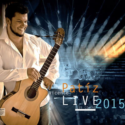 Vicente Patíz - Live 2015 (DVD + CD) (5871729115289)