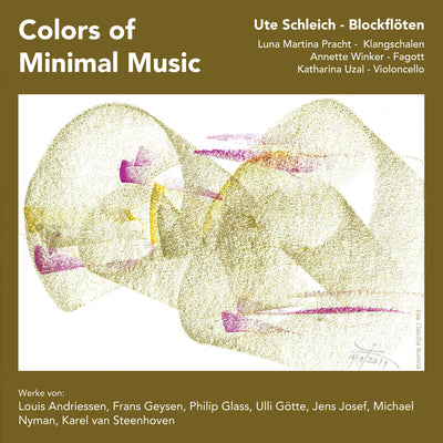 Ute Schleich - Colors of Minimal Music (CD)